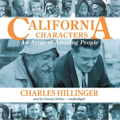 California Characters by Charles Hillinger audiobook