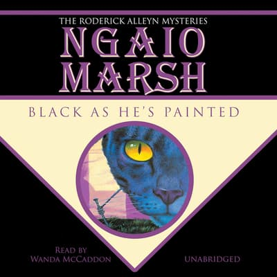 Black as He's Painted by Ngaio Marsh audiobook