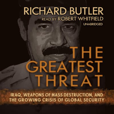 The Greatest Threat by Richard Butler audiobook
