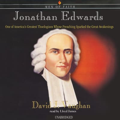 Jonathan Edwards by David J. Vaughan audiobook