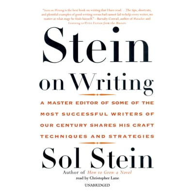 Stein on Writing by Sol Stein audiobook