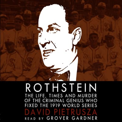 Rothstein by David Pietrusza audiobook