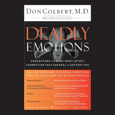 Deadly Emotions by Don Colbert audiobook