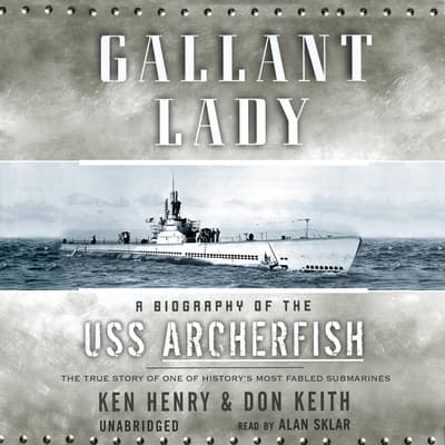 Gallant Lady by Ken Henry audiobook