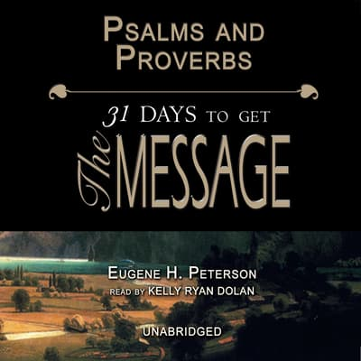 Psalms and Proverbs by Eugene H. Peterson audiobook