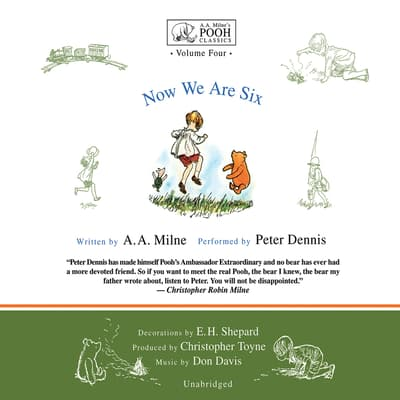 Now We Are Six by A. A. Milne audiobook