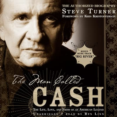 The Man Called Cash by Steve Turner audiobook