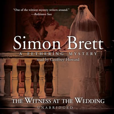 The Witness at the Wedding by Simon Brett audiobook