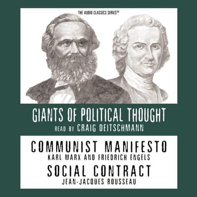 Communist Manifesto and Social Contract by Ralph Raico audiobook