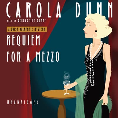 Requiem for a Mezzo by Carola Dunn audiobook