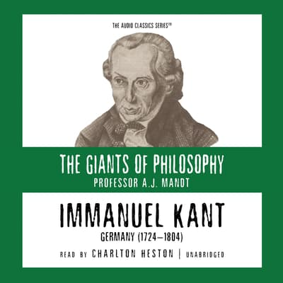 Immanuel Kant by A. J. Mandt audiobook