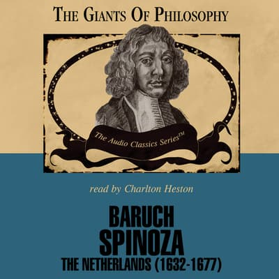 Baruch Spinoza by Thomas Cook audiobook