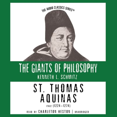 St. Thomas Aquinas by Kenneth L. Schmitz audiobook