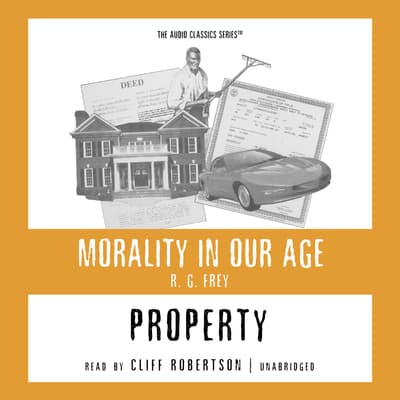 Property by R. G. Frey audiobook