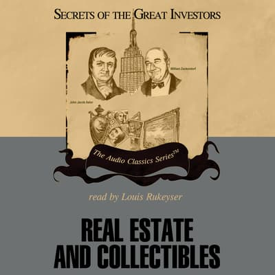 Real Estate and Collectibles by Austin Lynas audiobook