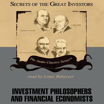 Investment Philosophers and Financial Economists by JoAnn Skousen audiobook
