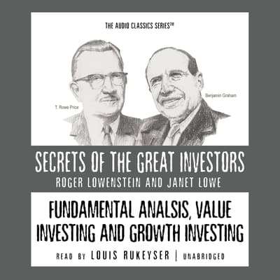 Fundamental Analysis, Value Investing and Growth Investing by Roger Lowenstein audiobook