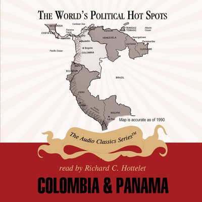 Colombia and Panama by Joseph Stromberg audiobook