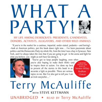 What a Party! by Terry McAuliffe audiobook