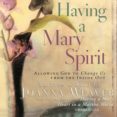 Having a Mary Spirit by Joanna Weaver audiobook