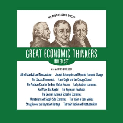 Great Economic Thinkers Series – Boxed Set by various authors audiobook