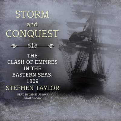 Storm and Conquest by Stephen Taylor audiobook