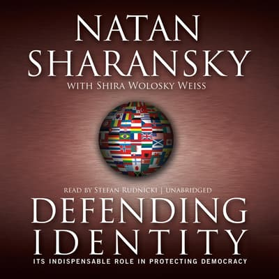 Defending Identity by Natan Sharansky audiobook
