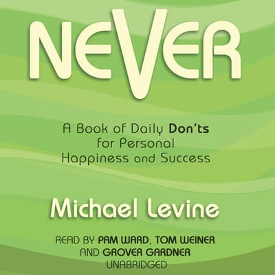 Never by Michael Levine audiobook