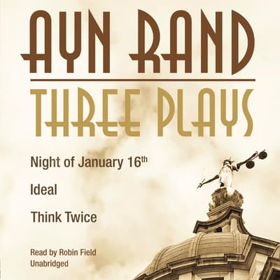 Three Plays by Ayn Rand audiobook