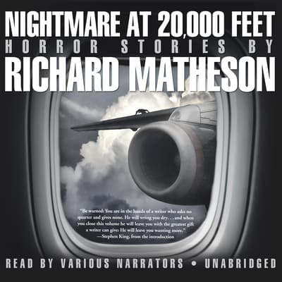 Nightmare at 20,000 Feet by Richard Matheson audiobook