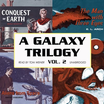 A Galaxy Trilogy, Vol. 2 by David Osborne audiobook