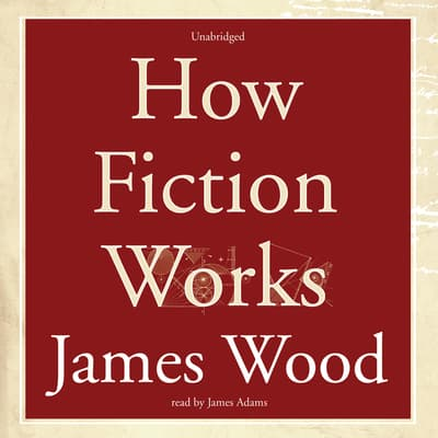 How Fiction Works by James Wood audiobook