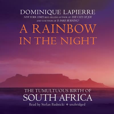 A Rainbow in the Night by Dominique Lapierre audiobook