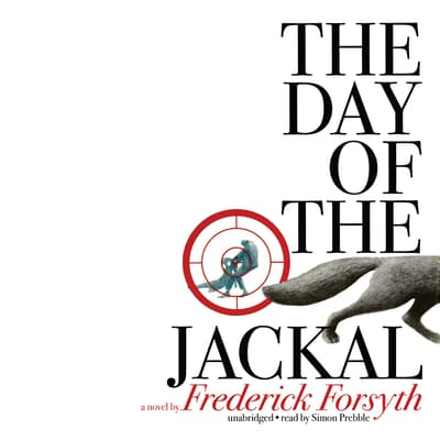 The Day of the Jackal by Frederick Forsyth audiobook