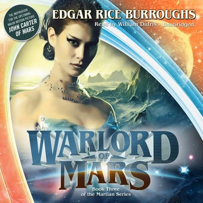 Warlord of Mars by Edgar Rice Burroughs audiobook