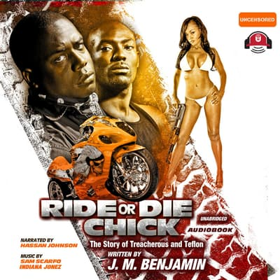 Ride or Die Chick by J. M. Benjamin audiobook