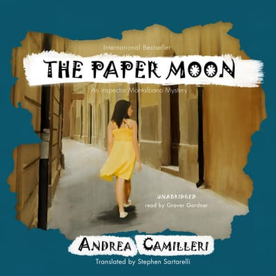 The Paper Moon by Andrea Camilleri audiobook