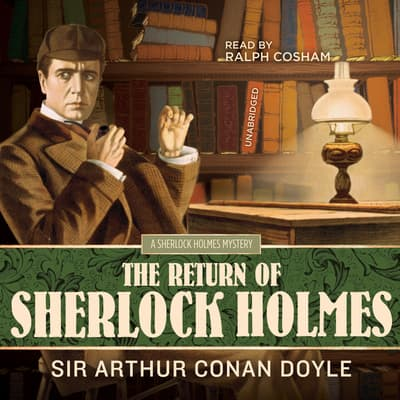 The Return of Sherlock Holmes by Arthur Conan Doyle audiobook