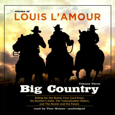 Big Country, Vol. 3 by Louis L'Amour audiobook