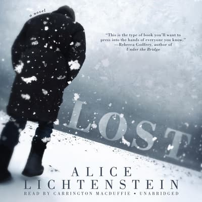 Lost by Alice Lichtenstein audiobook