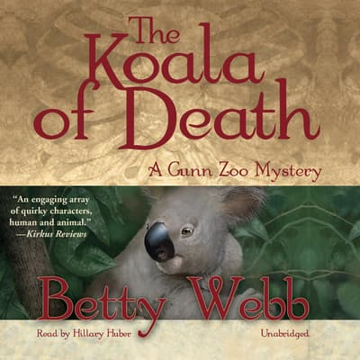 The Koala of Death by Betty Webb audiobook