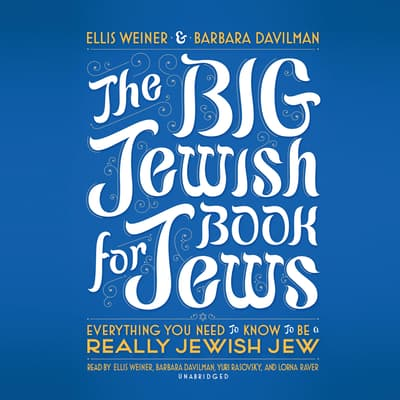 The Big Jewish Book for Jews by Ellis Weiner audiobook