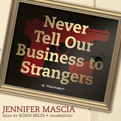 Never Tell Our Business to Strangers by Jennifer Mascia audiobook