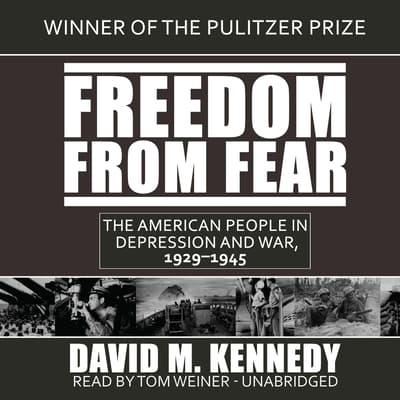 Freedom from Fear by David M. Kennedy audiobook