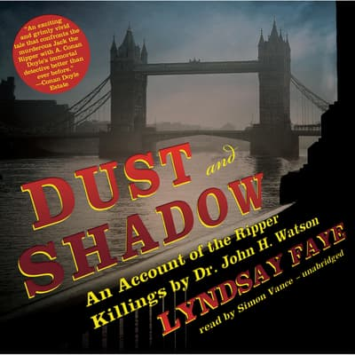 Dust and Shadow by Lyndsay Faye audiobook