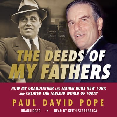 The Deeds of My Fathers by Paul David Pope audiobook