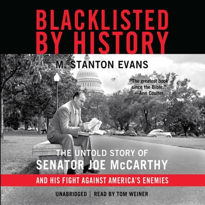 Blacklisted by History by M. Stanton Evans audiobook