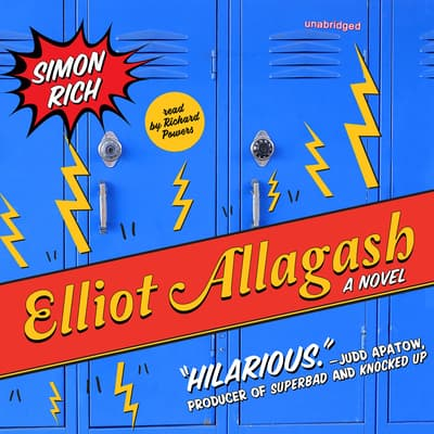 Elliot Allagash by Simon Rich audiobook
