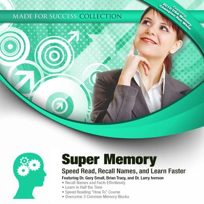 Super Memory by Made for Success audiobook