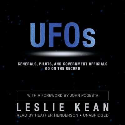 UFOs by Leslie Kean audiobook